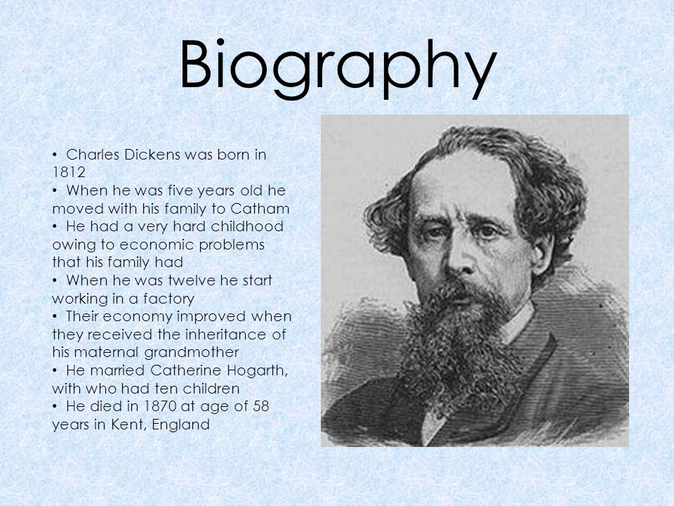 a biography of charles dickens a popular english novelist Charles dickens — english novelist born on february 07, 1812, died on june 09, 1870 charles john huffam dickens was an english writer and social critic.