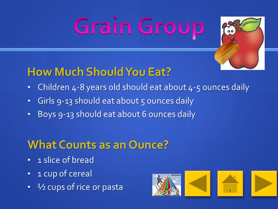 What Foods Make Up the Grain Group.