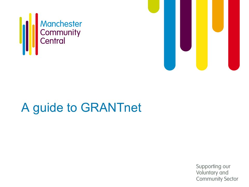 A guide to GRANTnet