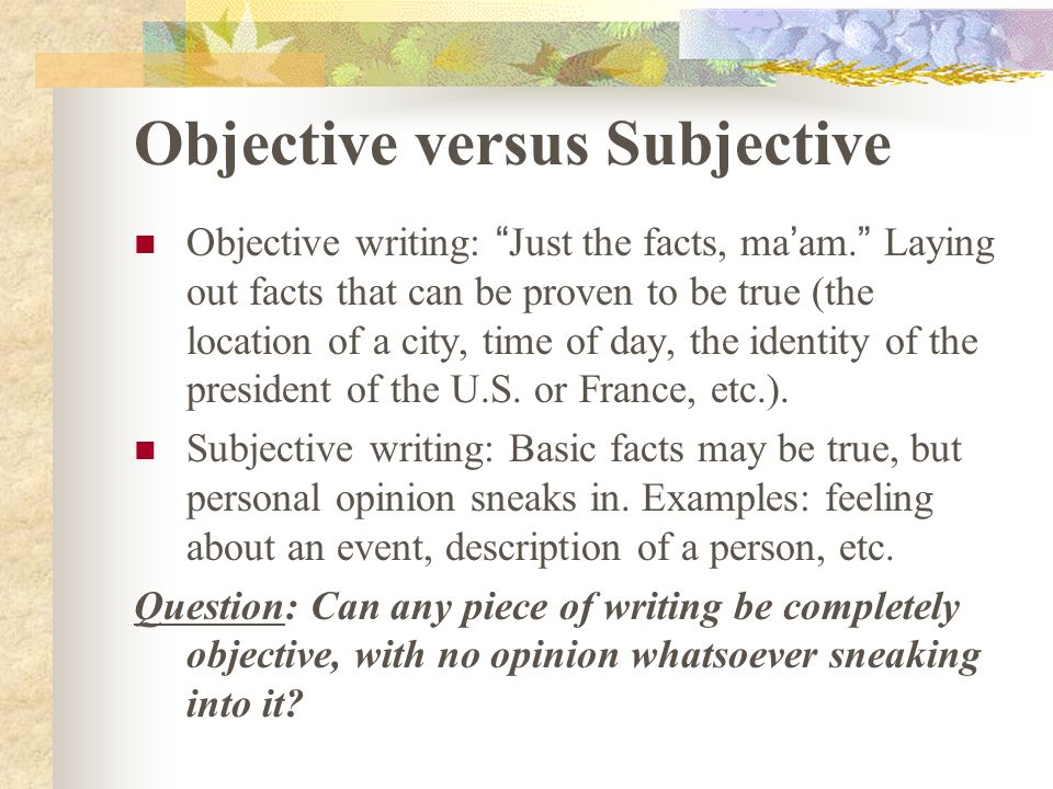 fiction vs nonfiction essay example Nonfiction notes ppt 1 essay short piece written on one subject usually found in fiction vs non-fiction power point.