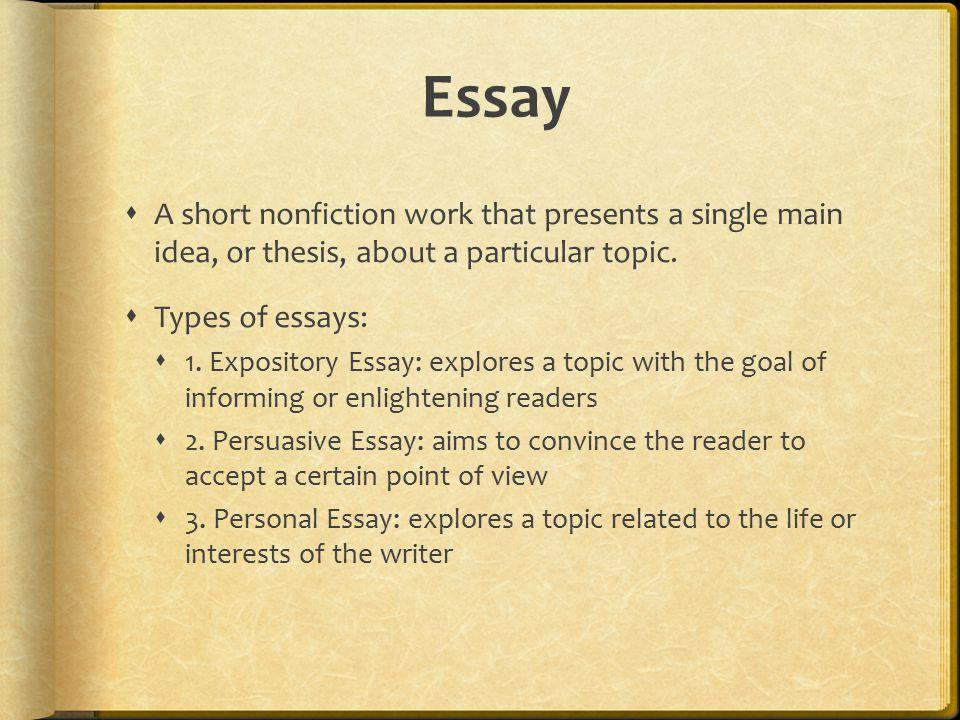 write personal essay publication