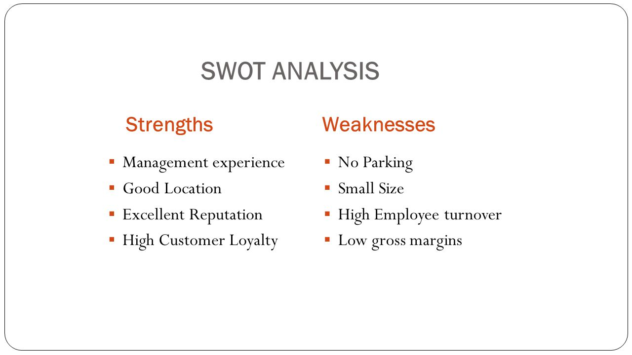 strength and weakness of an employee effectively determine ...