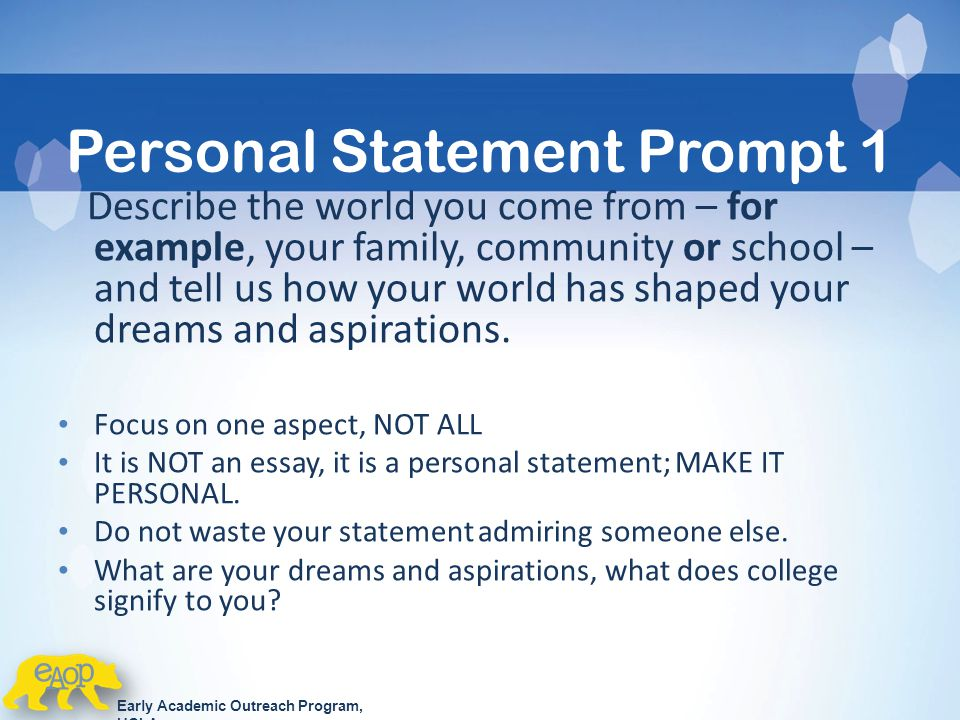 essay prompts for ucla Answering ucla application essay prompts is an important part of your application click here to learn how to get professional writing help for your admission.