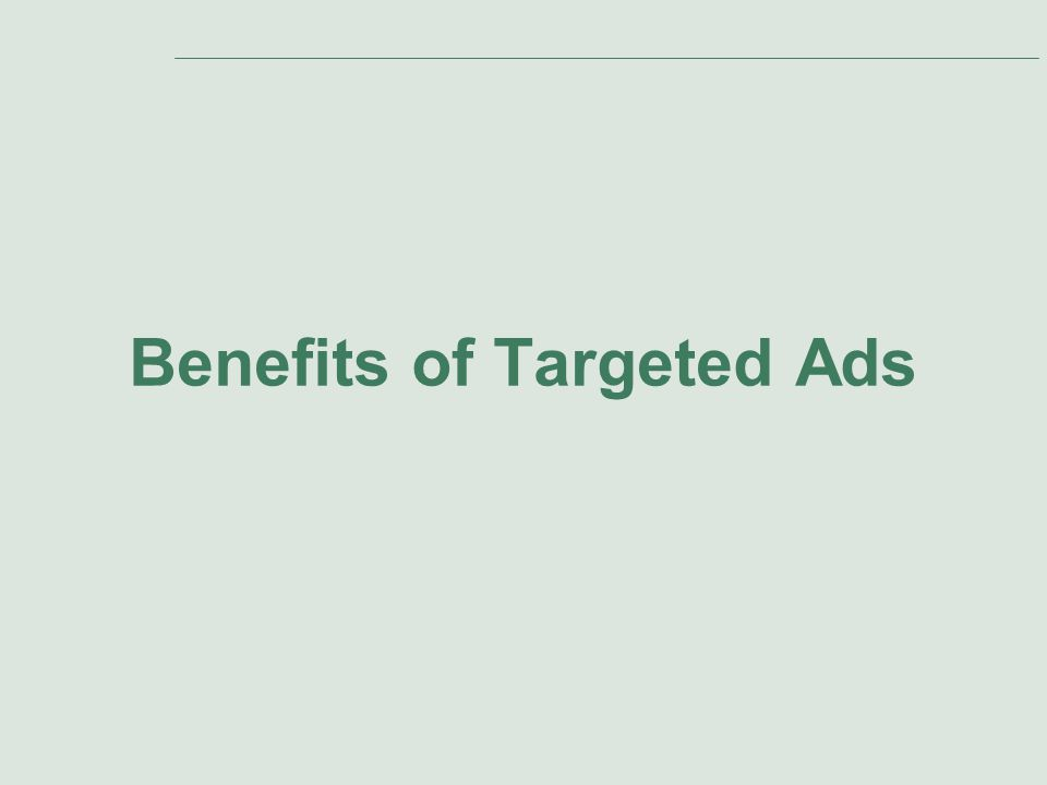 primista online marketing made easy slide agenda presentation  13 benefits of targeted ads