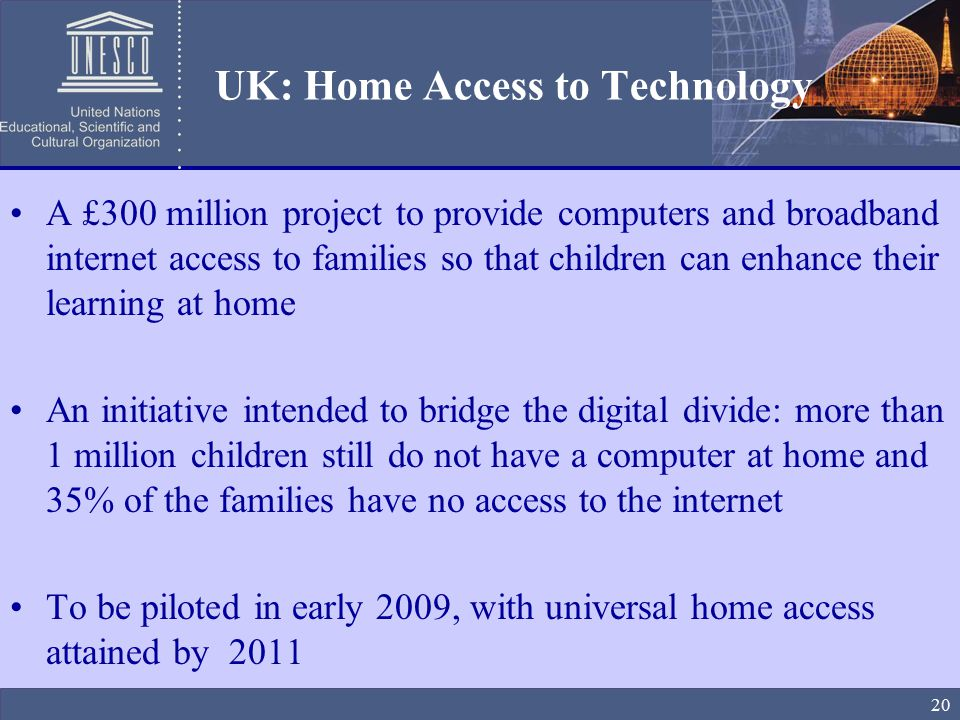 Universal home access project