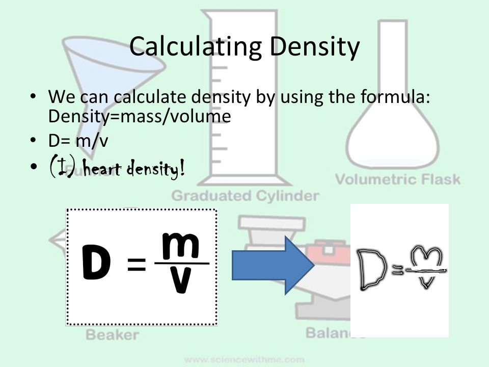 density volume and mass essay