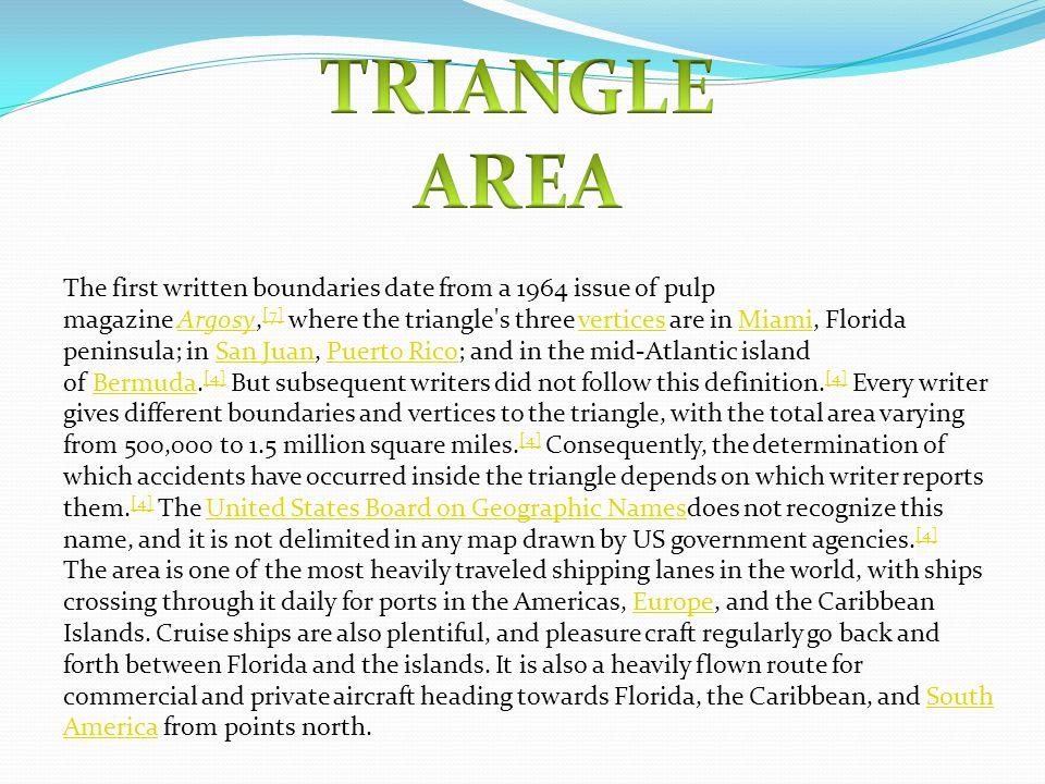 bermuda triangle persuasive essay Writing term paper outlines bermuda triangle persuasive essay do students have too much homework nyc homework helpline.