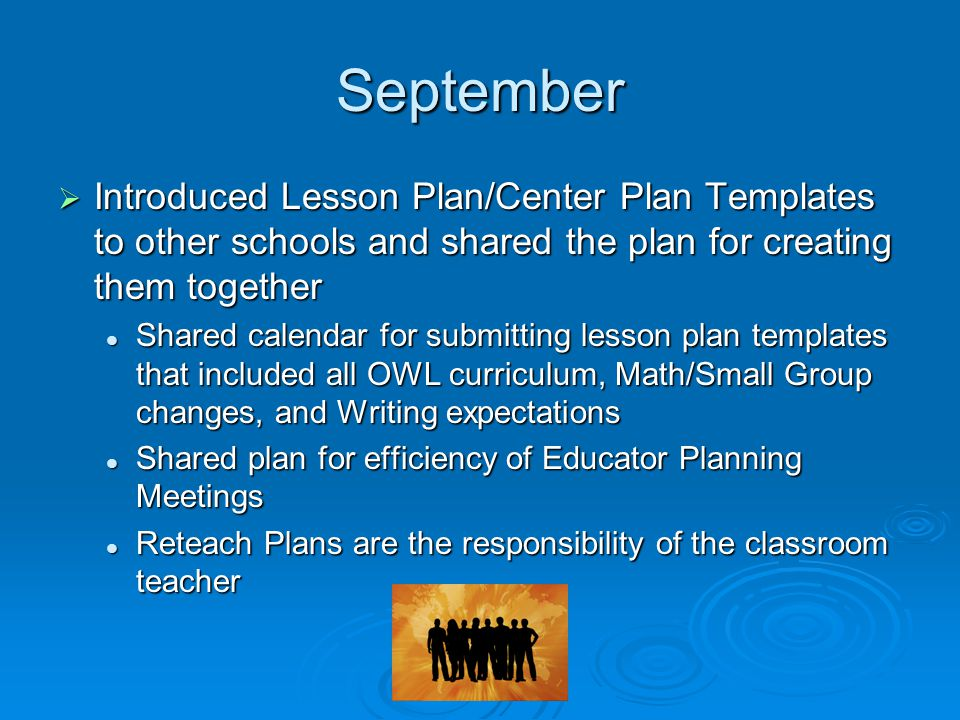 Educator Planning Meetings Imbedding Professional Development - Dcps lesson plan template