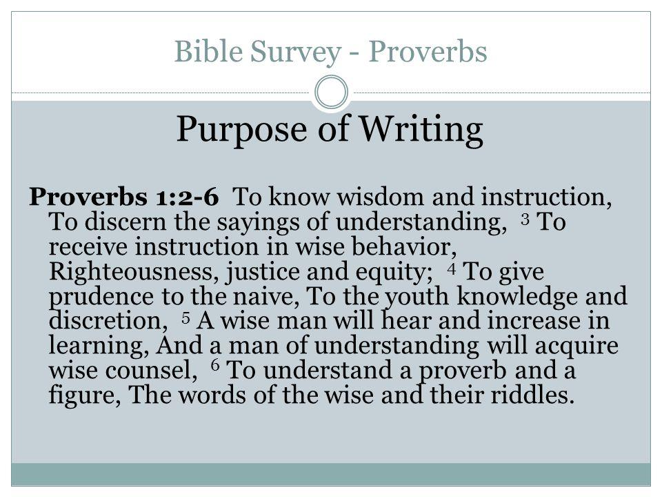 Dissertation Proverbs