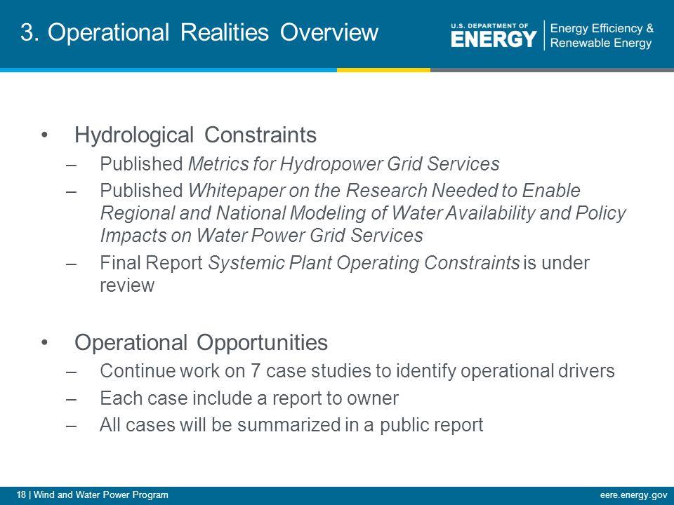 18   Wind and Water Power Programeere.energy.gov 3.