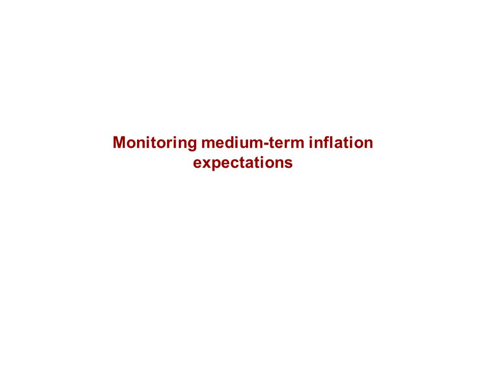 Monitoring medium-term inflation expectations