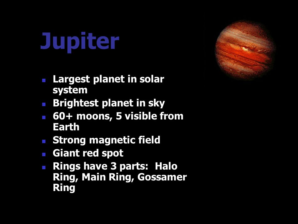 Outer Planets The outer planets composed of gas are : Jupiter Saturn Uranus Neptune