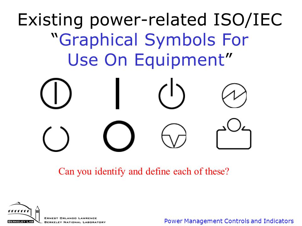 Next Generation Power Management User Interface For Office Equipment