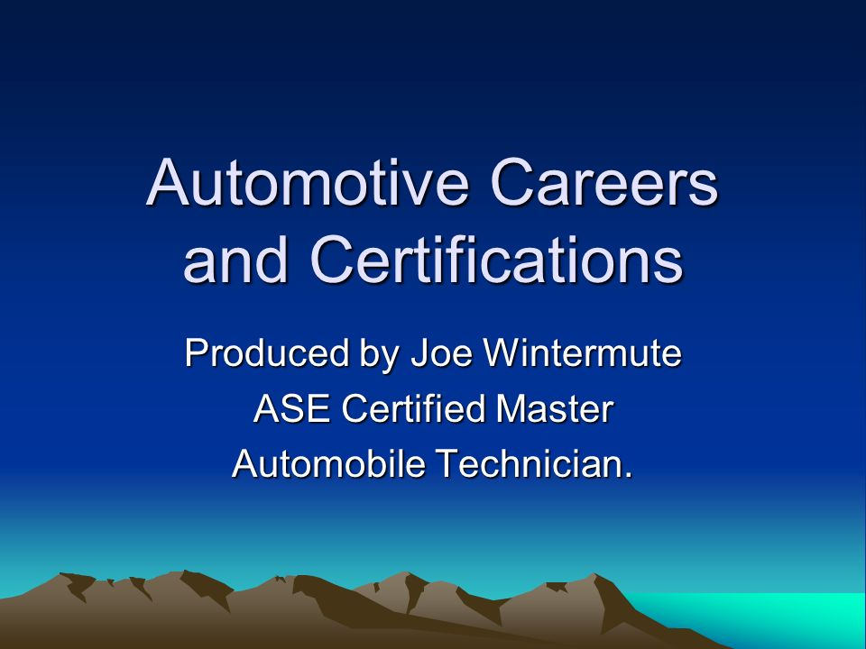 Ase Certified Master Tech Ukrandiffusion