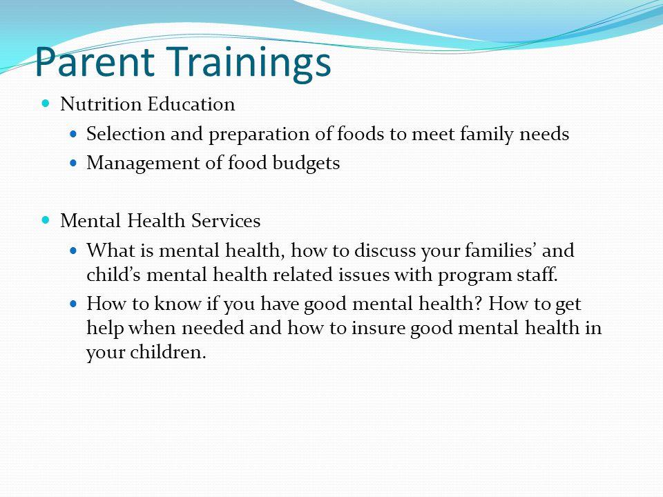 good parent information