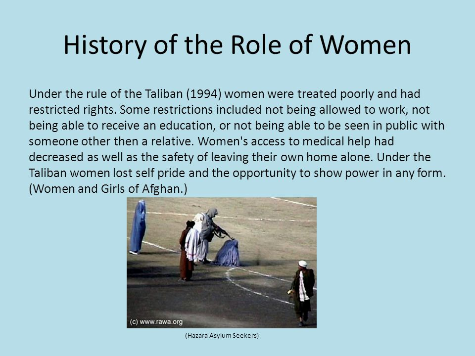 women in kara mc e guardian news and media ppt  history of the role of women under the rule of the taliban 1994 women