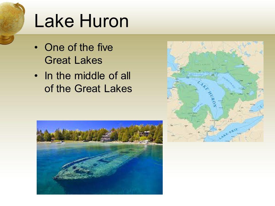 United States Landforms For Th Grade Great Lakes Lake Superior - Lake huron on us map