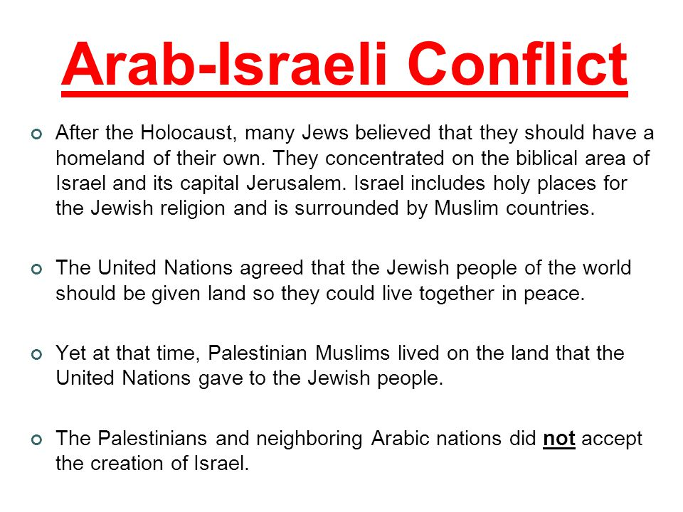 The middle east has a high population of muslims people who arab israeli conflict after the holocaust many jews believed that they should have a sciox Image collections