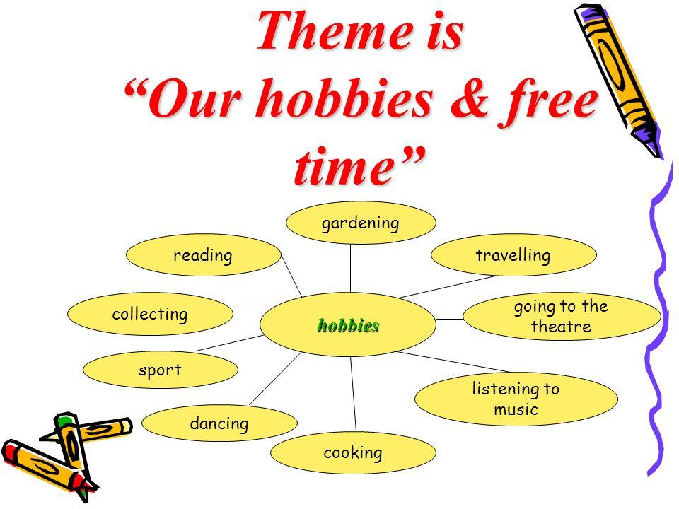 Výsledek obrázku pro our hobbies