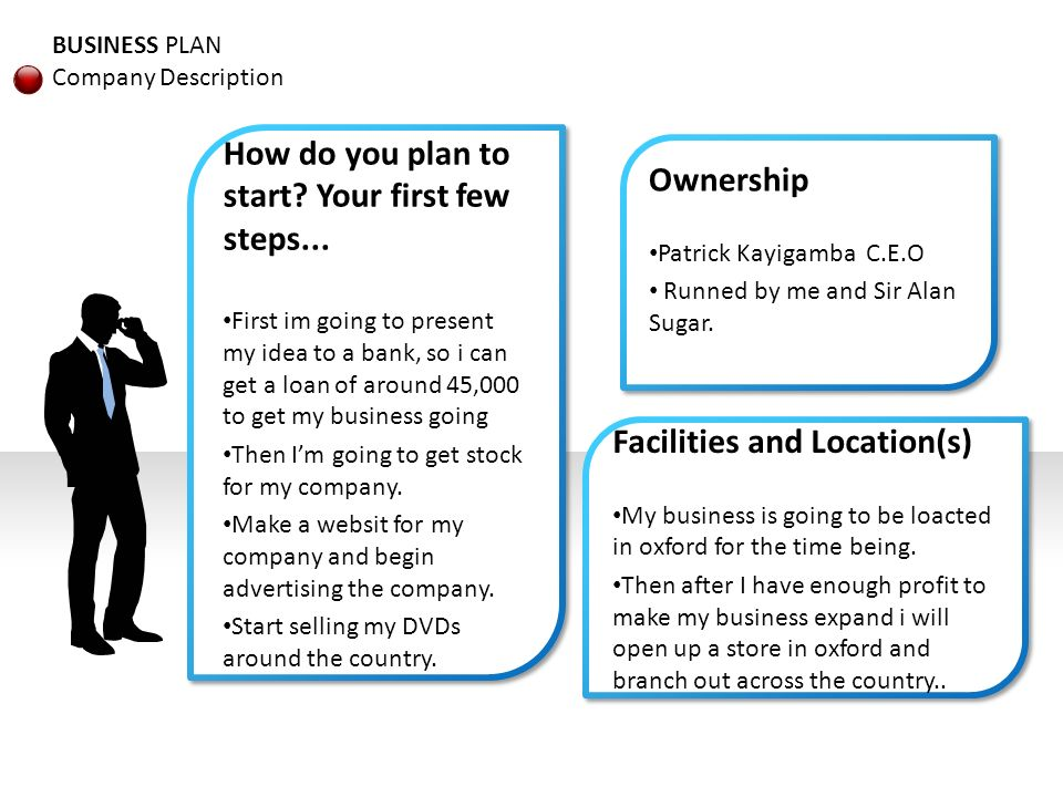 Business Plan For Company