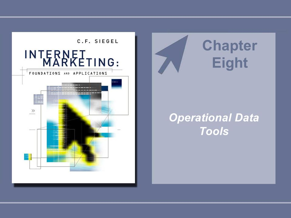 Operational Data Tools Chapter Eight