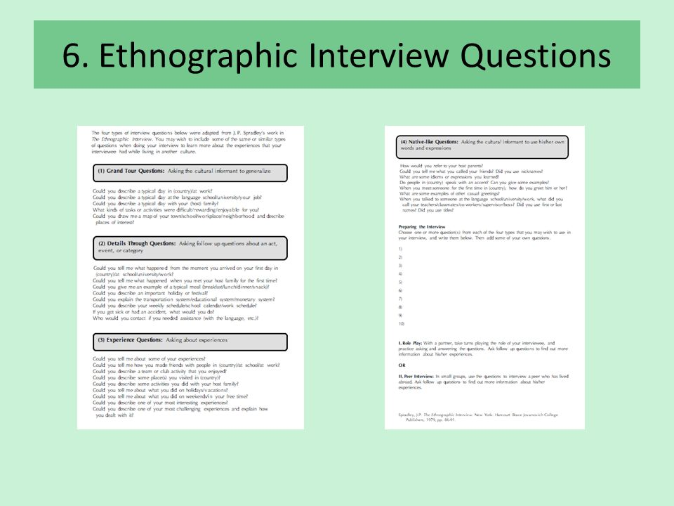 "ethnographic paper The aim is to 'get inside' the way each group of people sees the world""1 box 1 outlines the key features of ethnographic more depth in another paper in."
