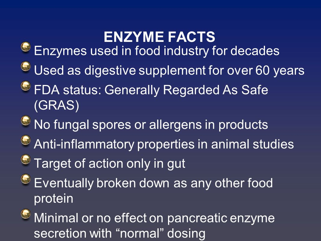 enzymes in food industry
