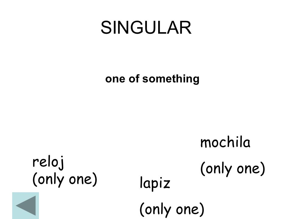 Por:Senorita Michalczuk Singular to Plural First, let's review ...