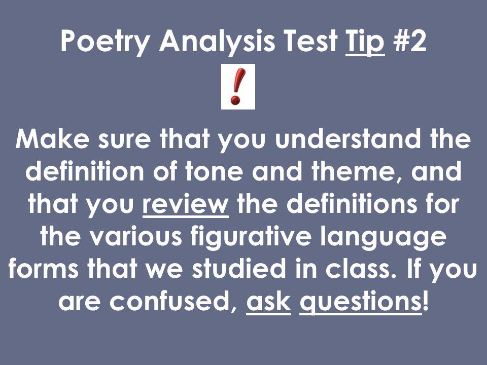Poetry Analysis Help?