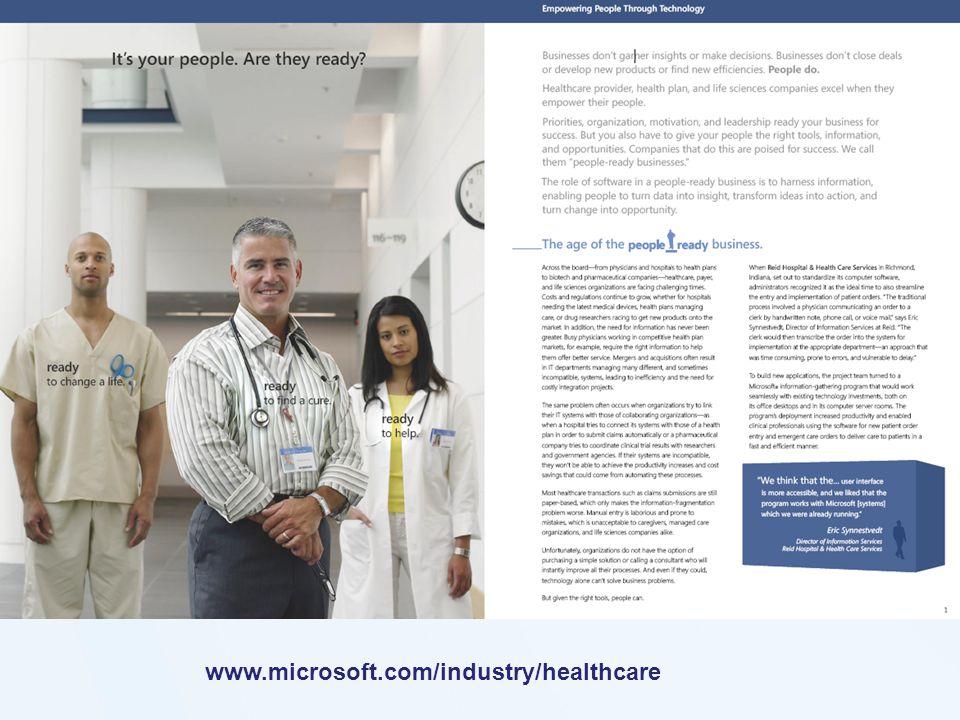www.microsoft.com/industry/healthcare