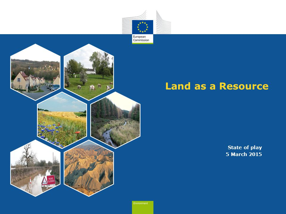 Land as a Resource State of play 5 March 2015