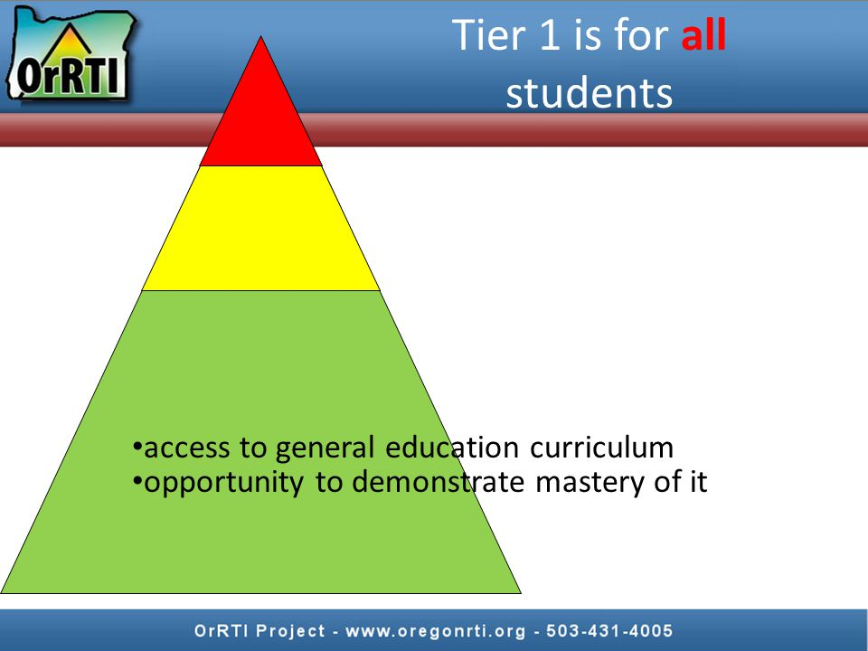Successful core instruction is the most important thing you can do in RTI. most