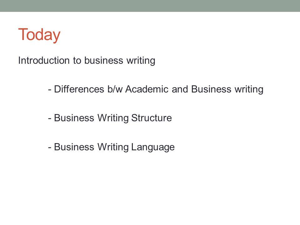 Academic writing class