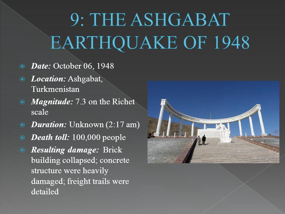 Image result for ashgabat turkmenistan earthquake 1948