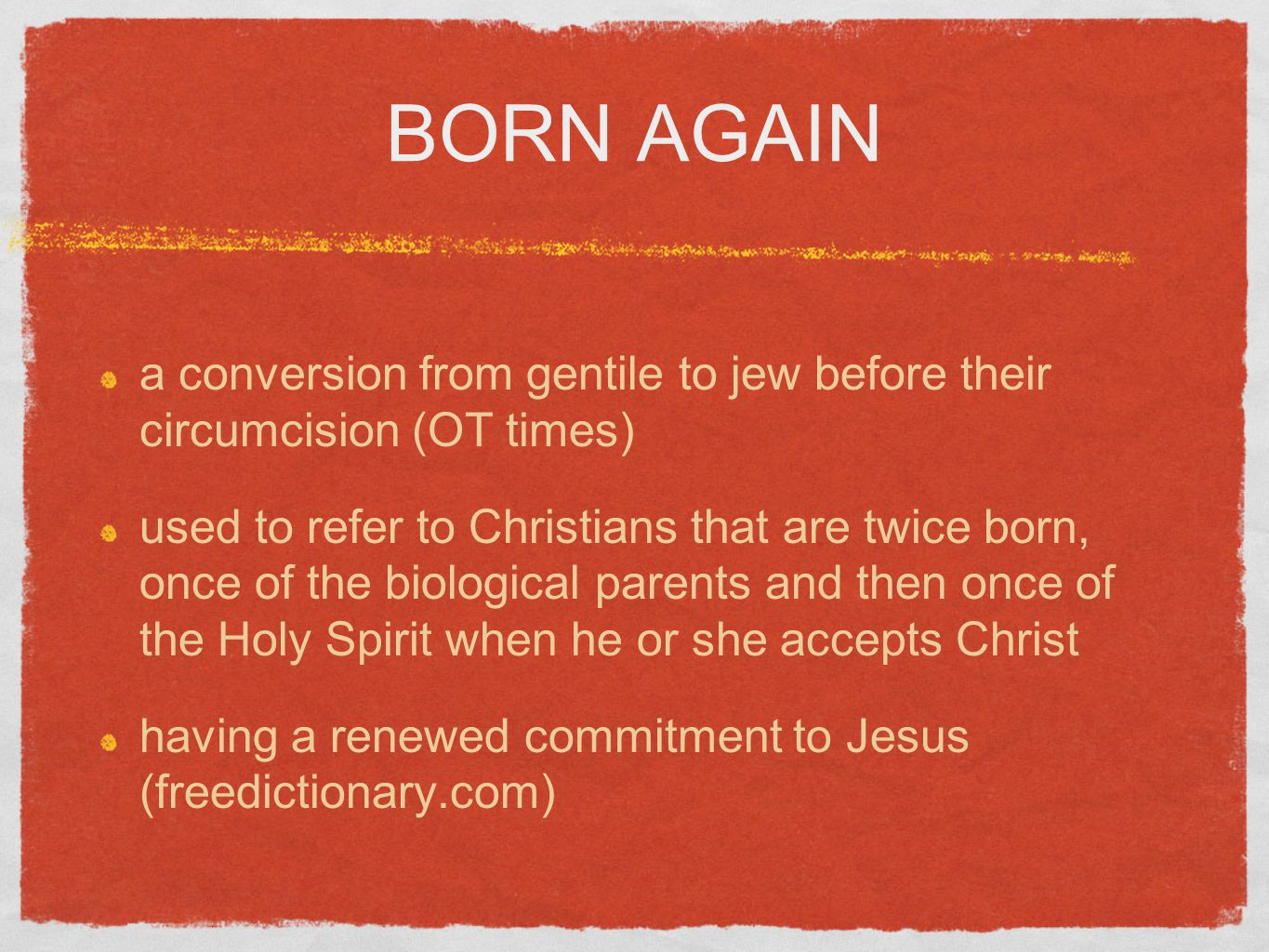 Born again experience what does it really mean born again a born again experience what does it really mean 2 born biocorpaavc Choice Image