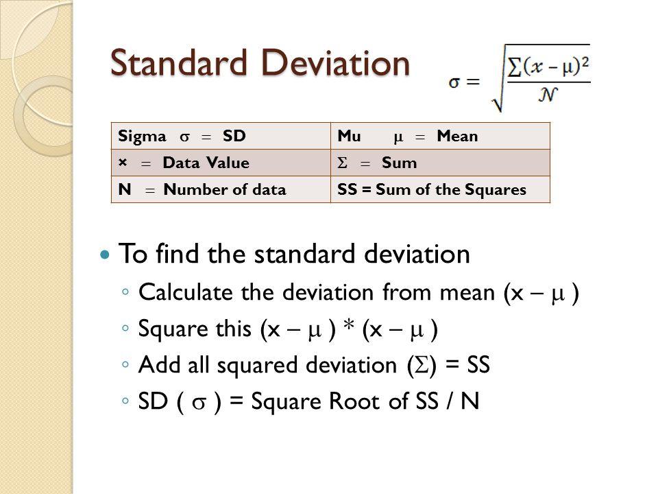 Quantitative methods part 2 standard deviation measures the 3 standard deviation to find ccuart Image collections
