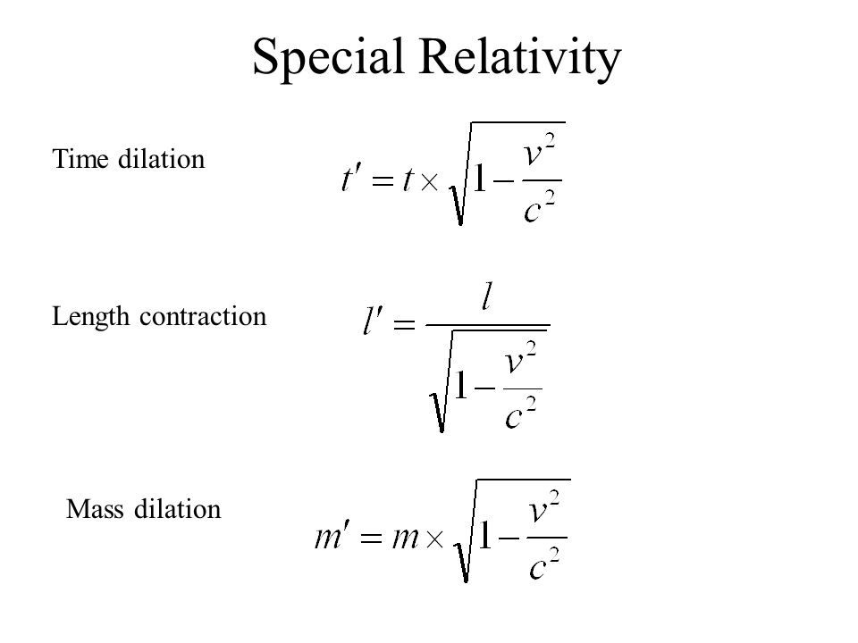 time dilation and length contraction Solved problems in special relativity time dilation (\moving clocks run slow) length contraction and rotation.
