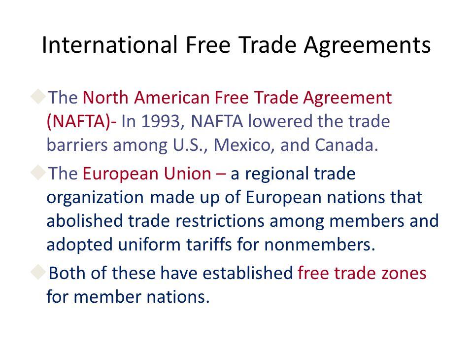 Free trade versus protectionism chapter benefits of international 4 international free trade agreements uthe north platinumwayz
