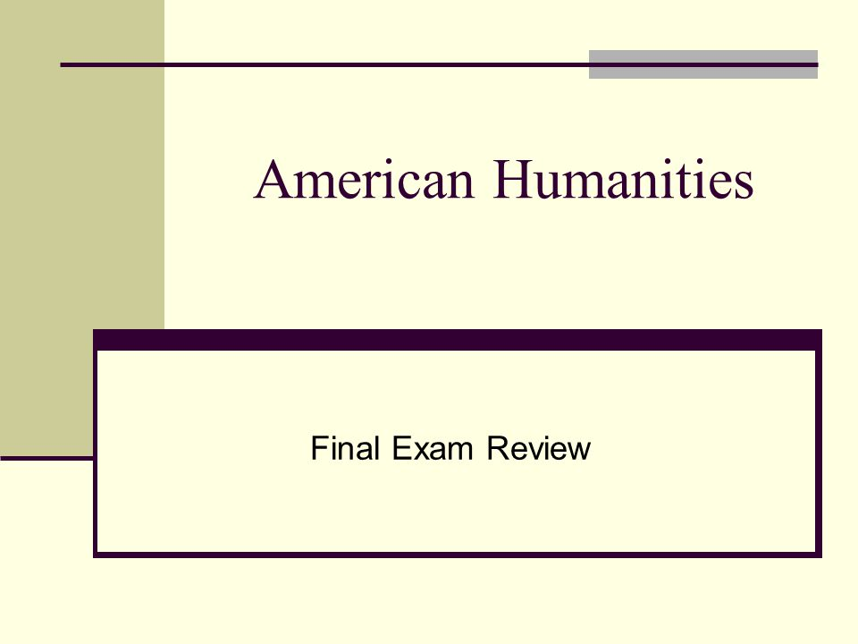 american humanities final exam review transcendentalism ralph  1 american humanities final exam review
