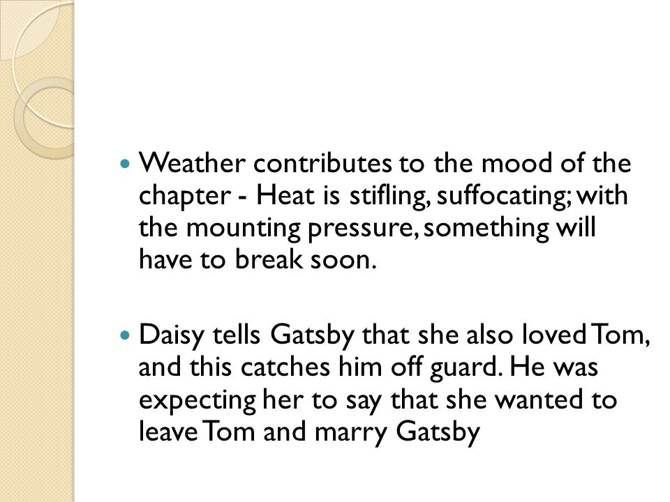 Descriptive essay bad weather