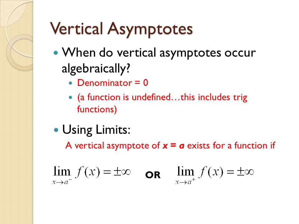 22 limits involving infinity graphically what is happening in 4 vertical asymptotes ccuart Choice Image