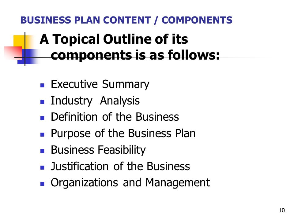 Business plan industry analysis
