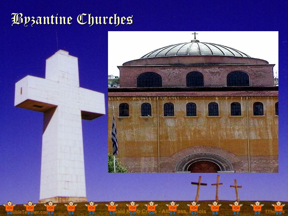 The Byzantine Church The Church of Rome survived the fall of the Roman Empire.