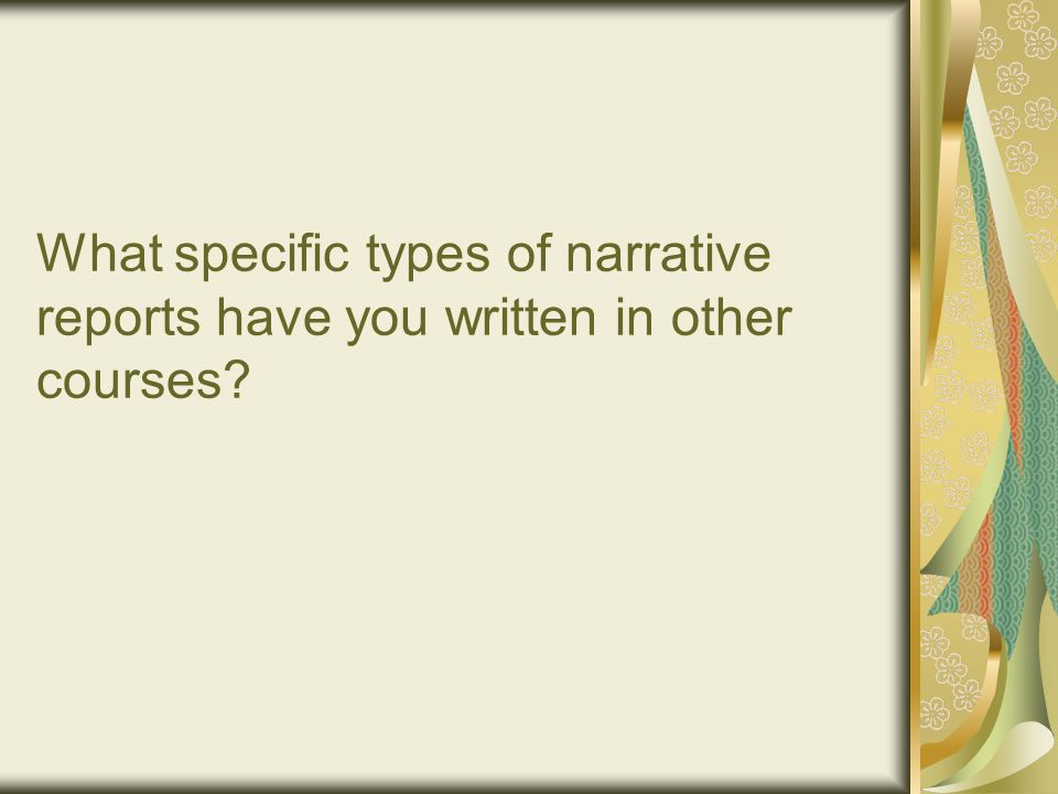 What should i remember when writing a narrative essay?