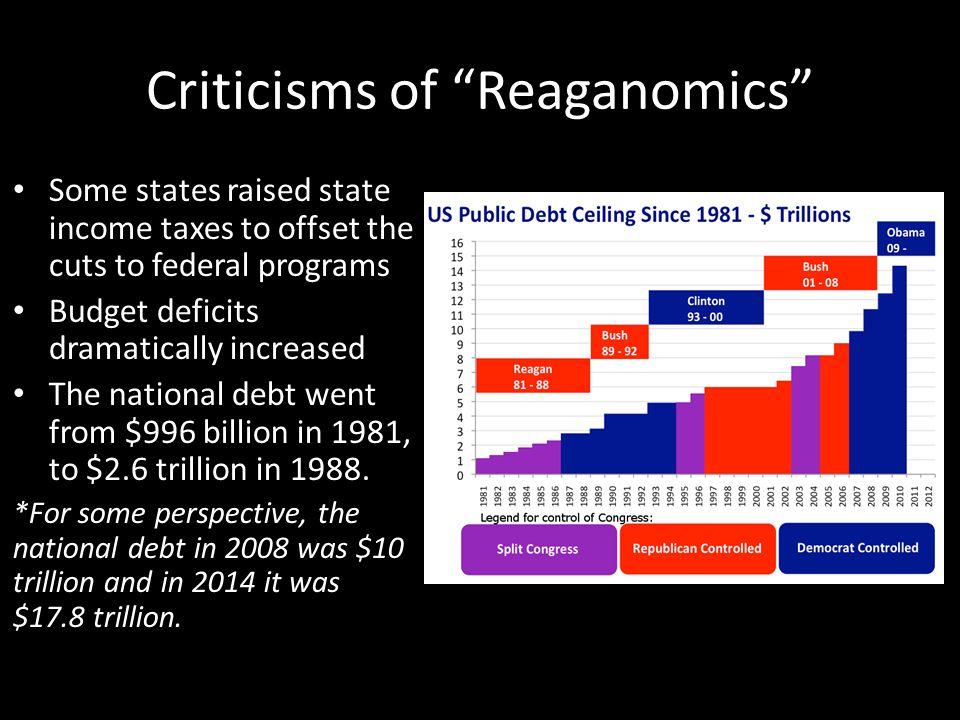 Reaganomics essay
