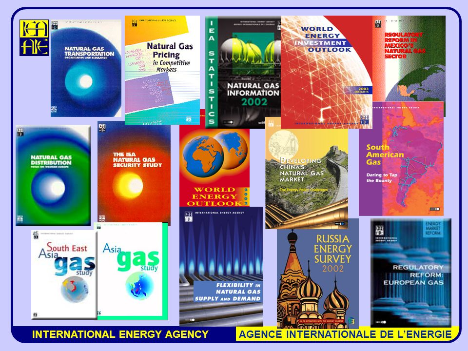 INTERNATIONAL ENERGY AGENCY AGENCE INTERNATIONALE DE L'ENERGIE