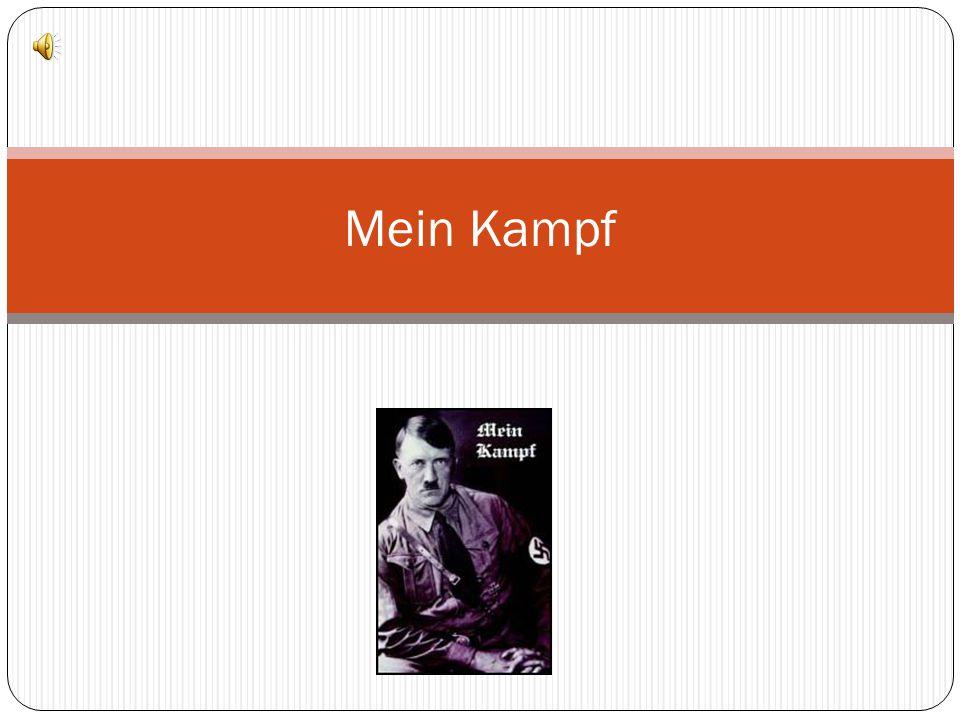 mein kampf essay Mein kampf this essay mein kampf and other 63,000+ term papers, college essay examples and free essays are available now on reviewessayscom autor.