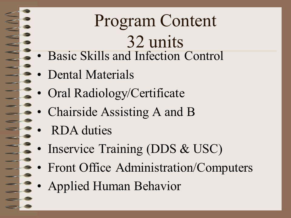 Dental Assisting Lori Gagliardi Program Director Rda Cda Rdh Ed