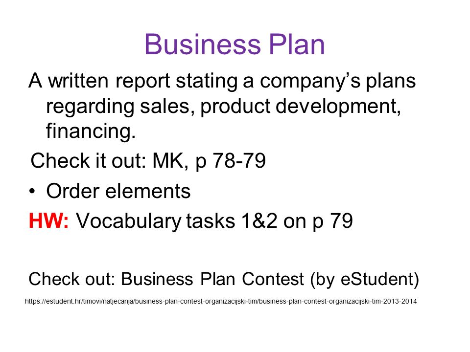 online business proposal task 1 Each proposal should describe a performance evaluation plan that includes goals, objectives, indicators, and specific measurements for assessing the progress toward.