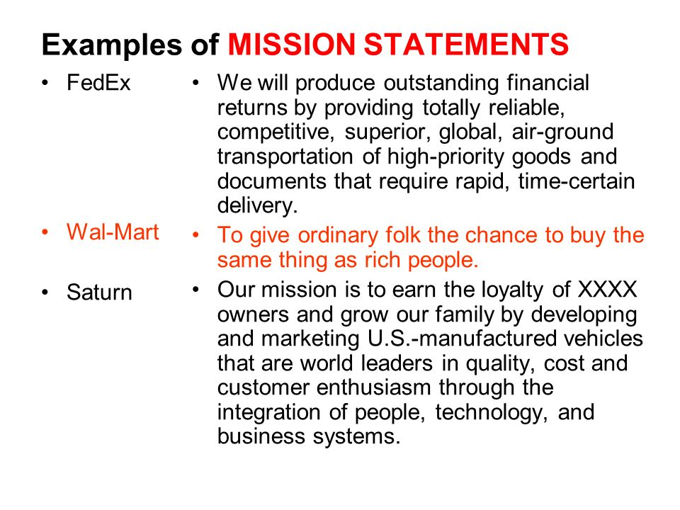 wal marts mission statement Click inside to find the most current walmart mission statement online the mission is evaluated using our unique framework.